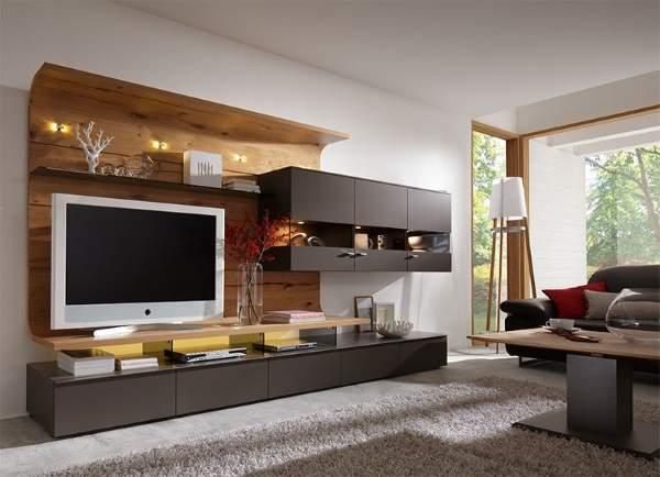 стильная стенка в гостиную в современном стиле, фото 3