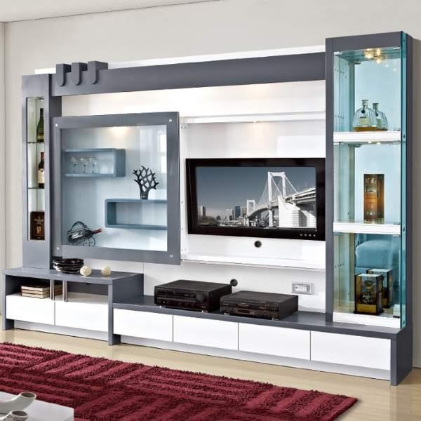 стильная стенка в гостиную в современном стиле, фото 4