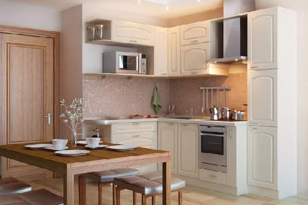 кухонный гарнитур для маленькой кухни, фото 36