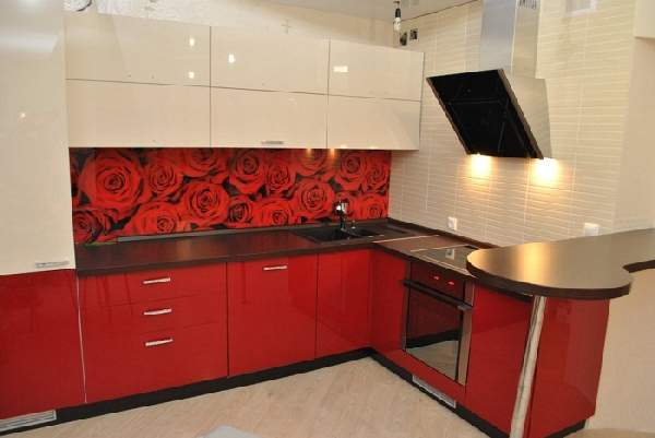 встроенный кухонный гарнитур фото, фото 30
