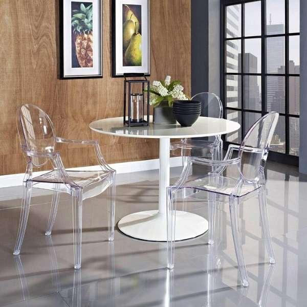 прозрачные стулья дизайнерские, фото 30
