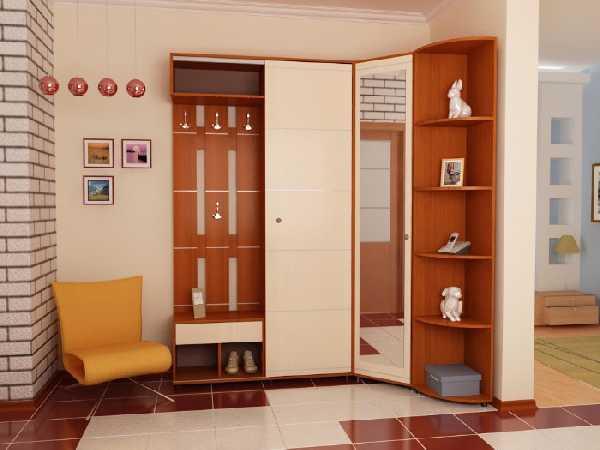 модульные прихожие в коридор, фото 47