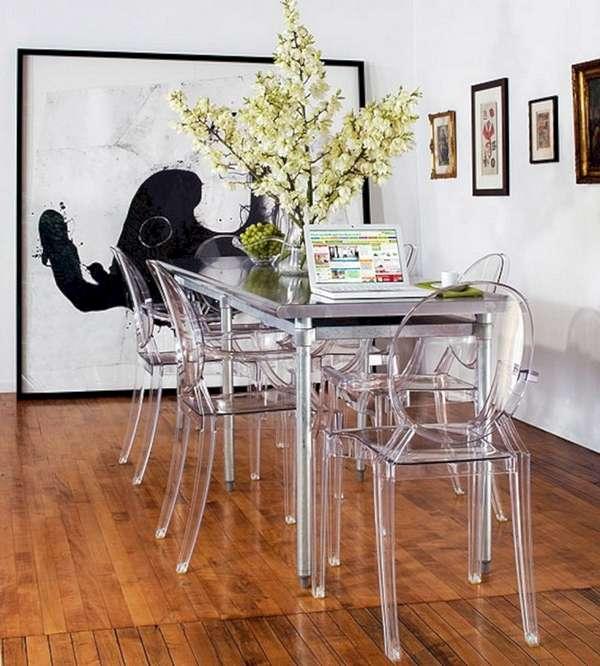 прозрачные стулья дизайнерские, фото 31