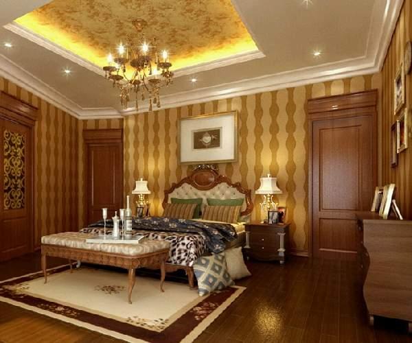 одноуровневые натяжные потолки спальня, фото 13