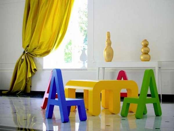 детские дизайнерские стулья, фото 20