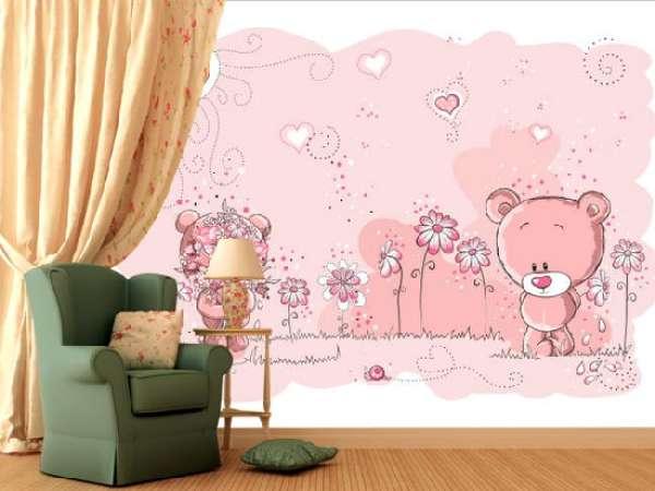 Фотообои в детскую комнату для мальчиков и девочек на фото