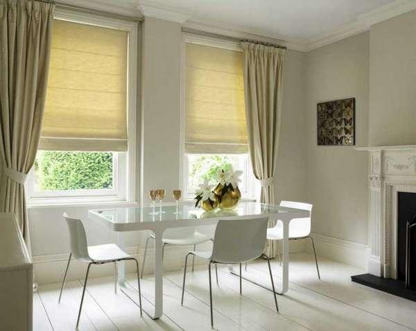 римская штора на кухню фото, фото 50