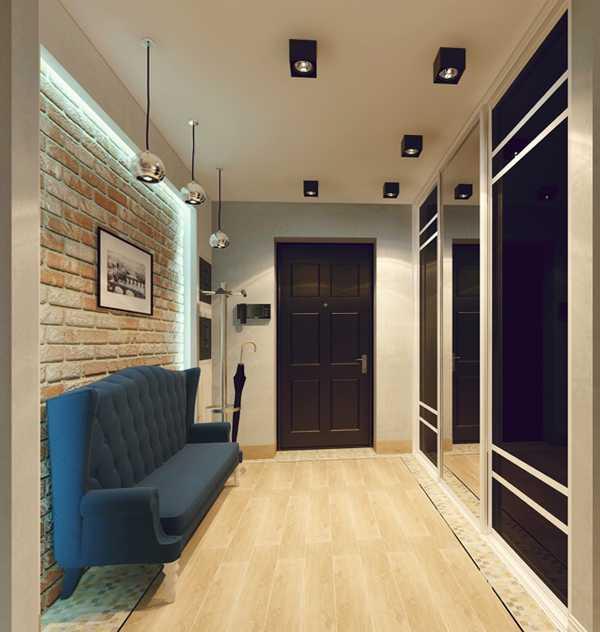 прихожие в коридор, фото 64