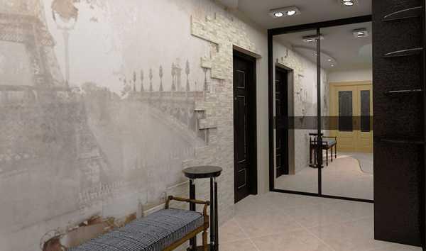 встроенные прихожие в коридор, фото 69