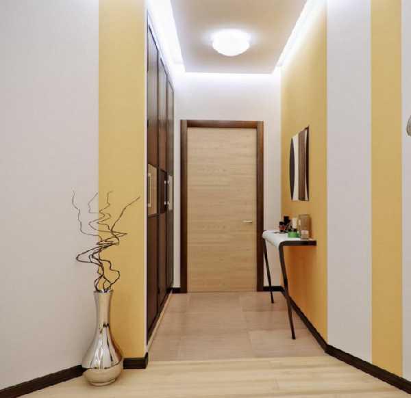 прихожая в длинный коридор, фото 70