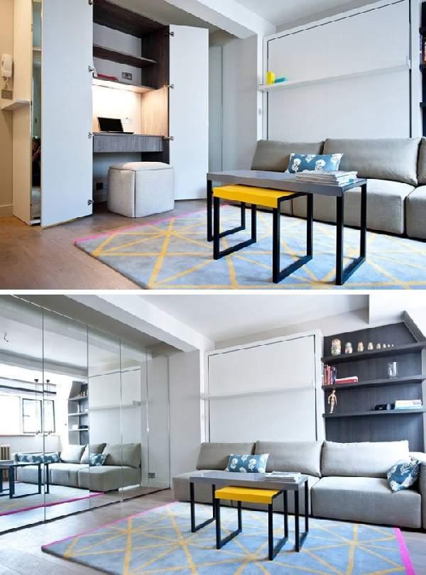 ,мебель для гостиной с рабочим местом фото 72