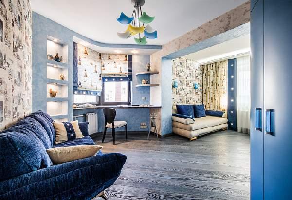 ,дизайн гостиной с рабочей зоной фото фото 99