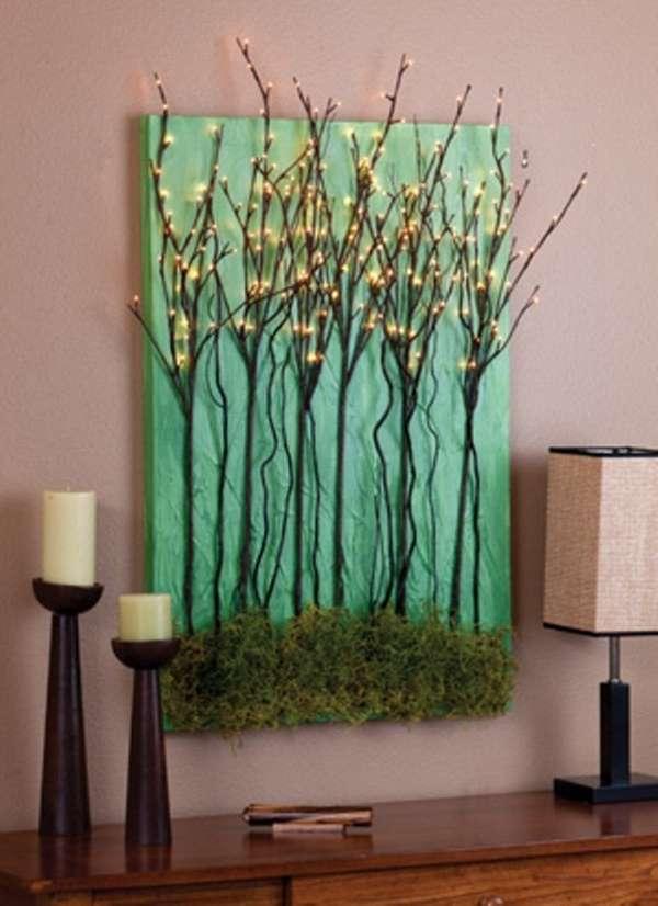 декоративное панно из дерева на стену, фото 5