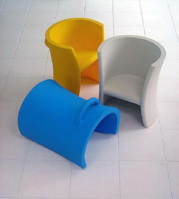 детские дизайнерские стулья, фото 23