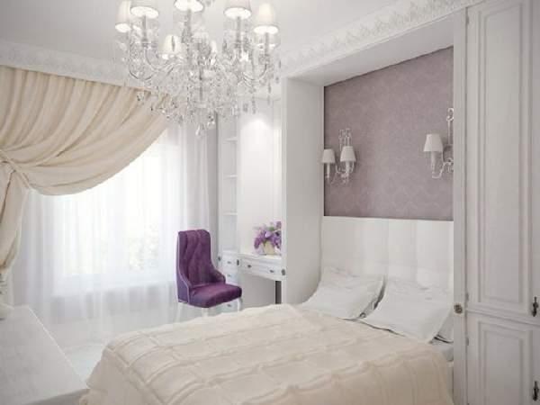 красивые натяжные потолки для спальни фото, фото 40