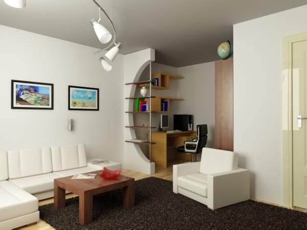 ,дизайн гостиной с рабочей зоной фото фото 79
