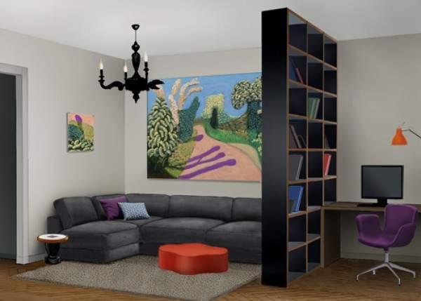 ,дизайн гостиной с рабочей зоной фото фото 103