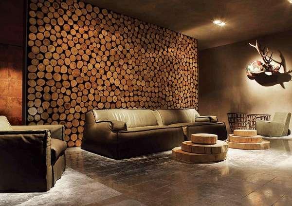 панно из дерева на стену, фото 6