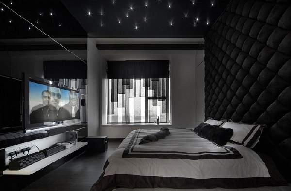 натяжные потолки с фотопечатью в спальне фото, фото 49