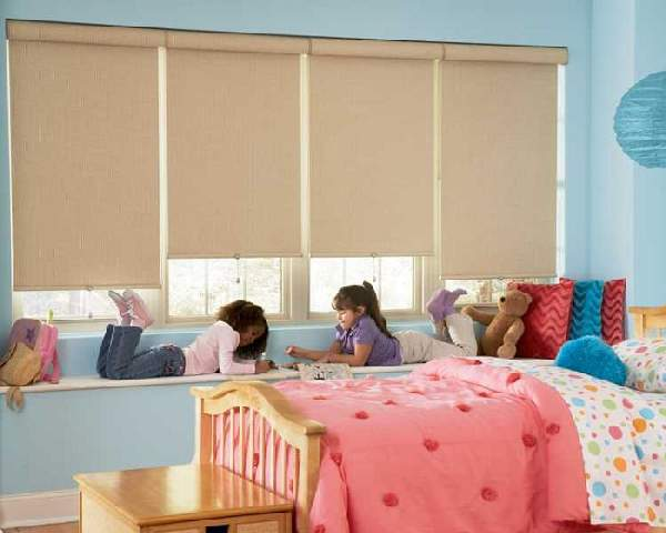рулонные шторы в детскую комнату, фото 20