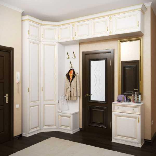 классические прихожие в коридор, фото 93