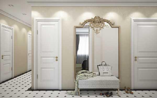 прихожие в коридор с зеркалом, фото 95