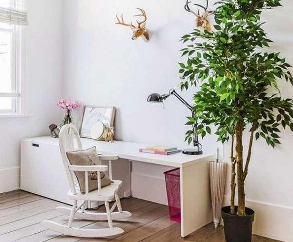 комнатные растения в интерьере детской, фото 39