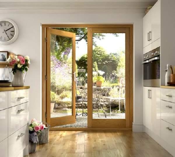 входные деревянные двери фото, фото 20