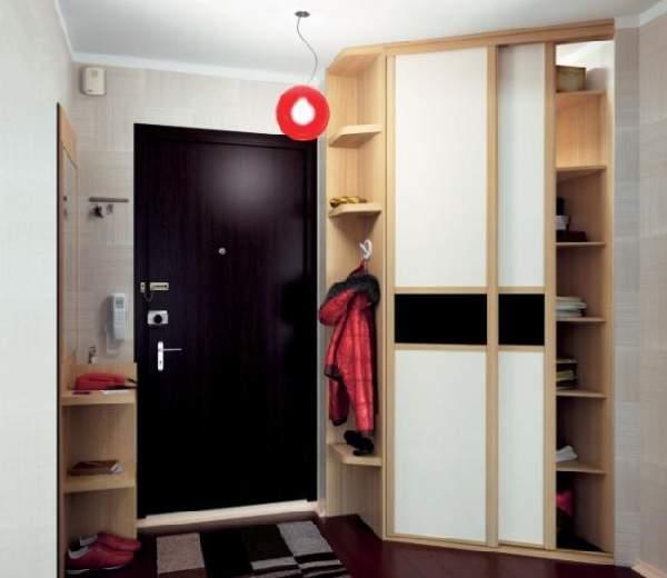 шкафы в прихожую в коридор малогабаритные, фото 13