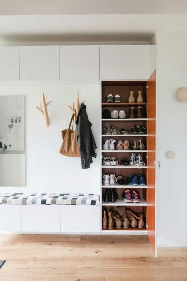 шкаф для обуви в коридор, фото 36