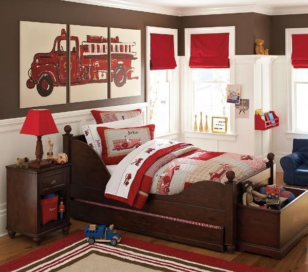 римские шторы для детской комнаты для мальчиков, фото 55