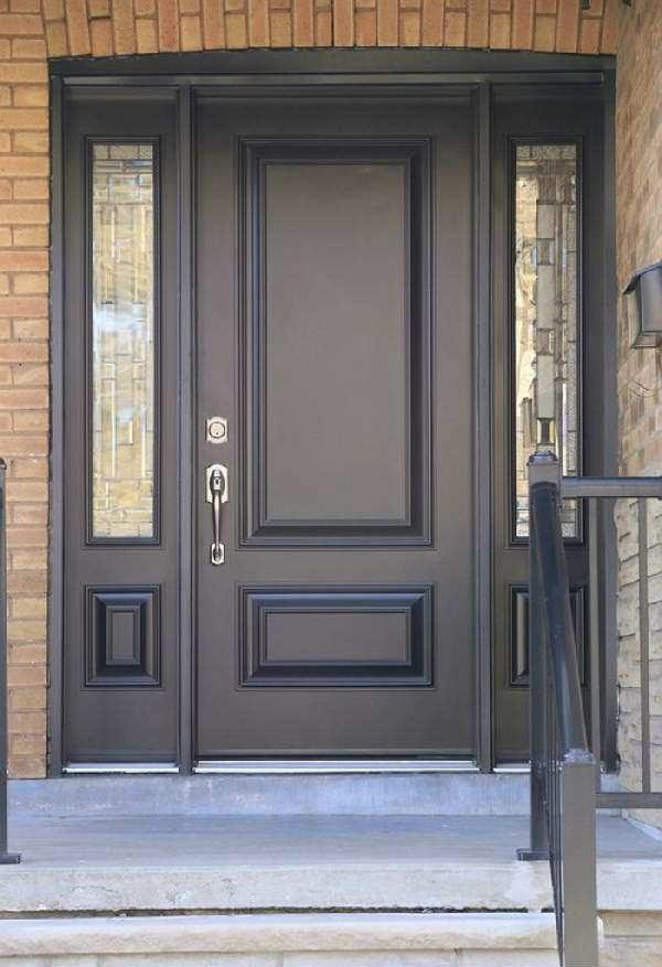 внутренняя входная дверь в квартиру деревянна, фото 21