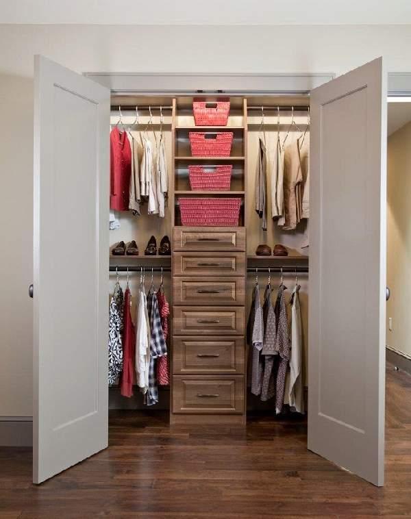 шкаф кладовка в коридоре, фото 21