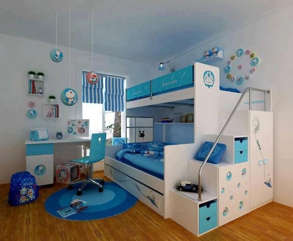 римские шторы в детскую комнату для мальчика, фото 56
