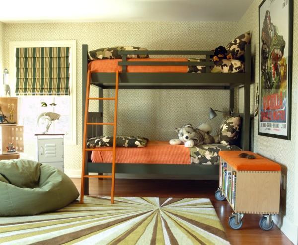 римские шторы для детской комнаты для мальчиков, фото 57