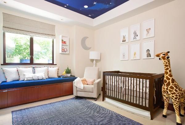 римские шторы в детскую комнату для мальчика, фото 58