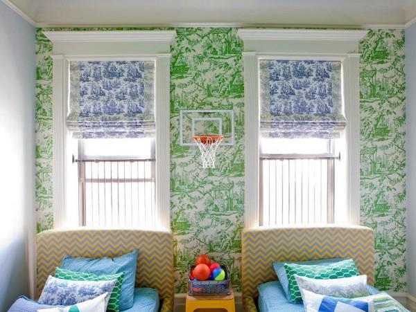 римские шторы для детской комнаты для мальчиков, фото 59