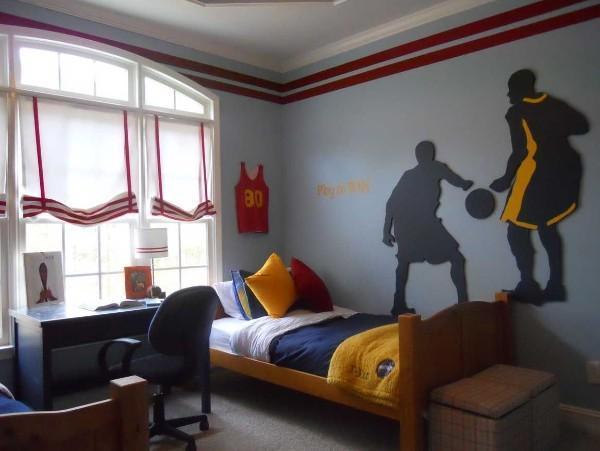 шторы в детскую комнату для мальчика подростка, фото 60