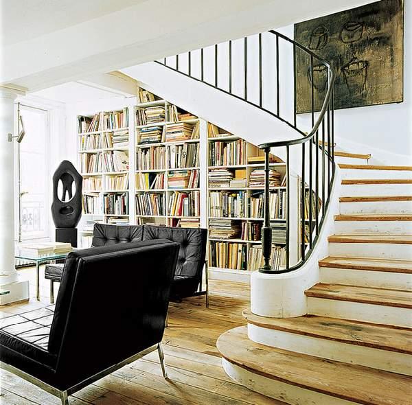 шкафы под лестницей фото, фото 24