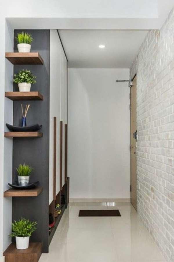 оригинальные комнатные растения в интерьере прихожей, фото 14