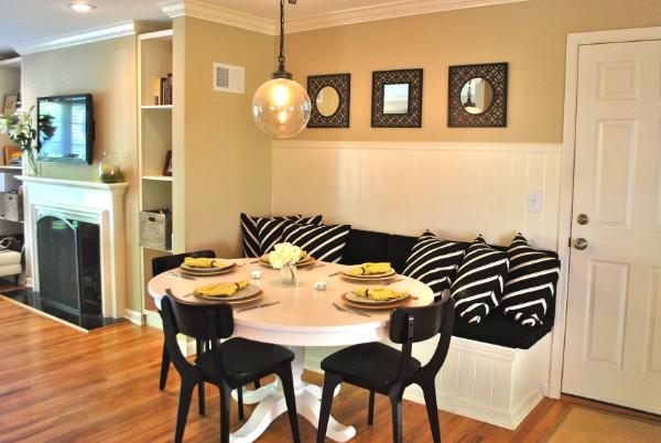 кухонный диван для кухни со спальным местом, фото 27