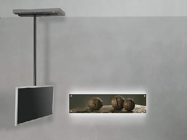 подвесная полка под телевизор, фото 8