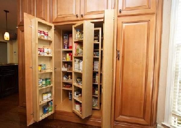 шкаф кладовка в коридоре, фото 22