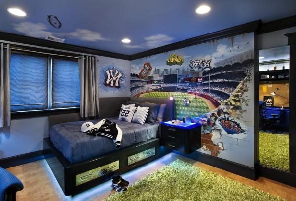 шторы в детскую комнату для мальчика, фото 61