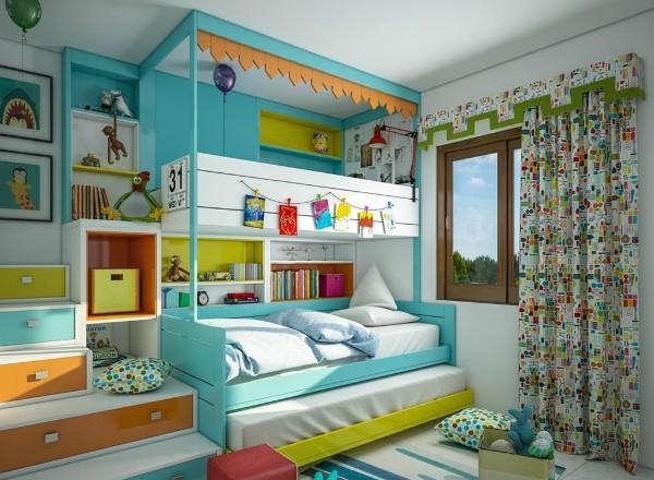 шторы в детскую комнату для мальчика, фото 7