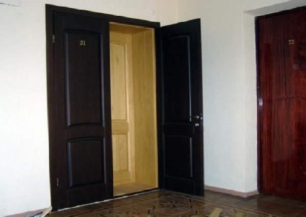 двери входные деревянные для квартиры, фото 31