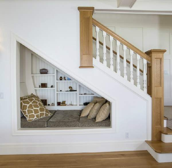 шкаф под лестницей, фото 21