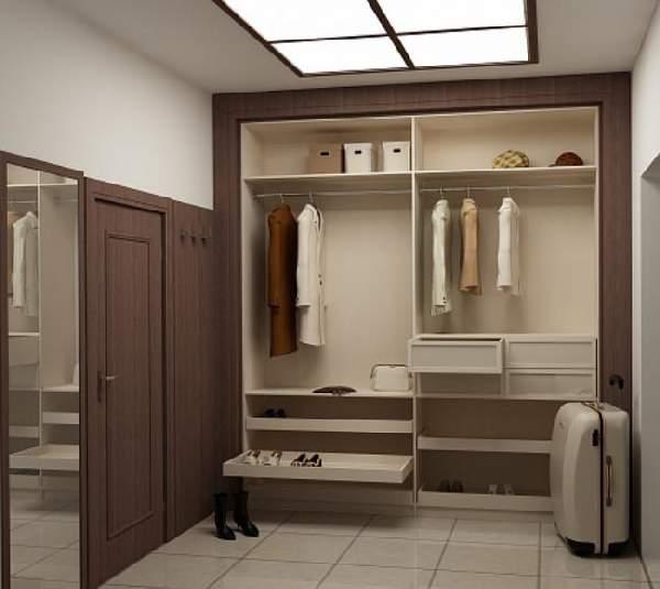 прихожие в коридор со шкафом купе, фото 5