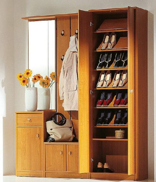 шкаф для обуви в коридор, фото 39