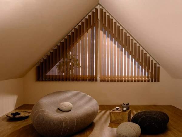вертикальные жалюзи фото на окна нестандартной формы, фото 4